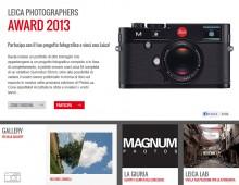 Leica Photographers Award 2013